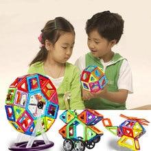 Mini Magnetic Designer Construction Set Model & Building Toy Plastic Magnetic Blocks Educational Toys For Kids Gift