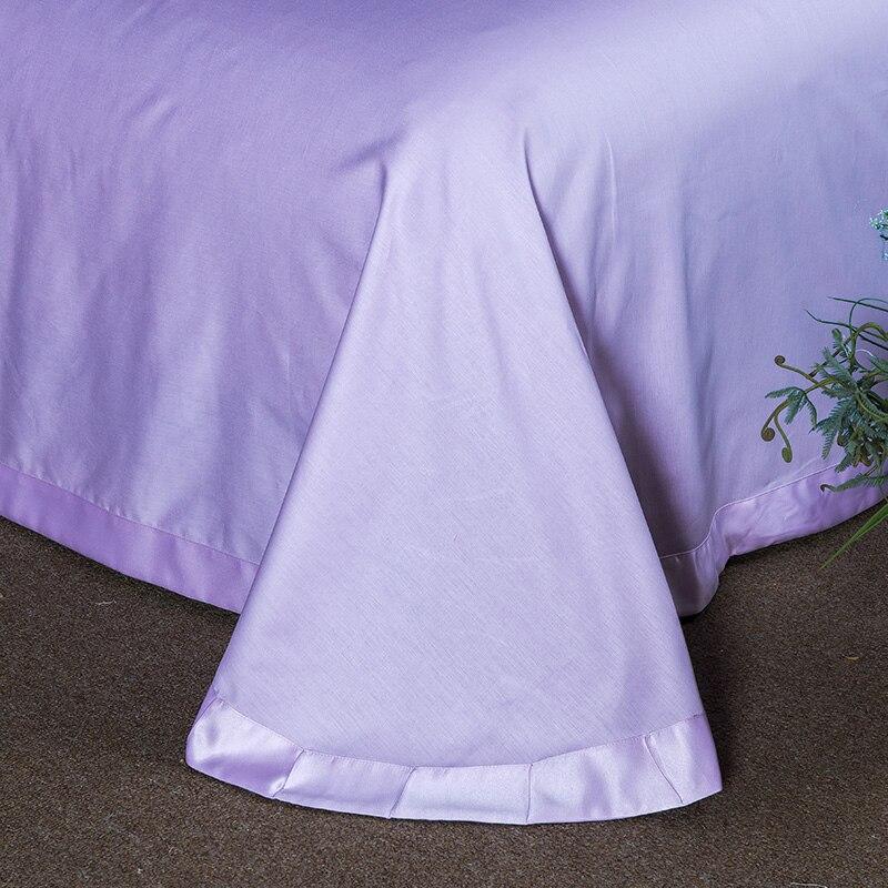 (1)  White silver cotton imitate silk luxurious Bedding Set queen king measurement mattress set Bedsheets linen Europe embroidery Quilt cowl set HTB1 r0MePQnBKNjSZSgq6xHGXXaT