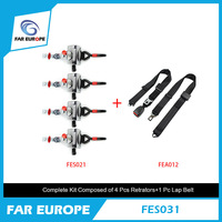 Special Safety Belt Seat Belt FES021 And Static Seat Belt FES012 Wheelchair Complete Kit FES031