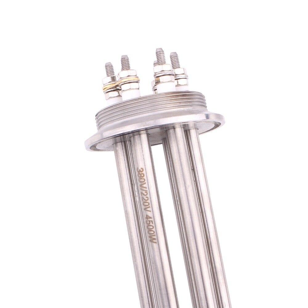 Купить трехзажимный od64mm 220v/380v 45kw низковатный нагреватель dernord