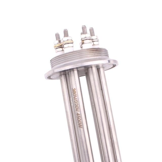 Купить трехзажимный od64mm 220v/380v 45kw низковатный нагреватель dernord картинки