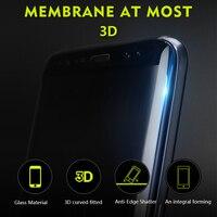 Бэнкс 3D Полный закаленное Стекло Экран протектор для Samsung Примечание 8 гладкой Высокое разрешение Экран крышка из закаленного Стекло Плёнки