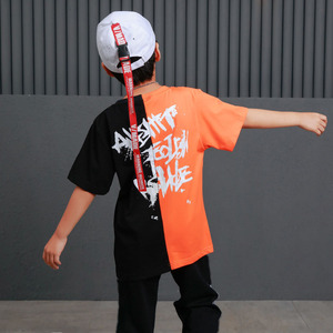 Image 3 - Trẻ Em Hip Hop Quần Áo Quần Áo Màu Khối Giản Dị Áo Sơ Mi Cao Cấp Cho Bé Gái Bé Trai Jazz Khiêu Vũ Trang Phục Phòng Khiêu Vũ Nhảy Múa Dạo Phố