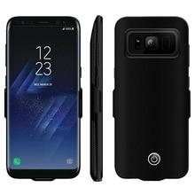 NS для Samsung Galaxy S8 S8plus батарея случае 7000 мАч Зарядное устройство защитный чехол Ultra Slim портативный внешний батарея запасные аккумуляторы для телефонов