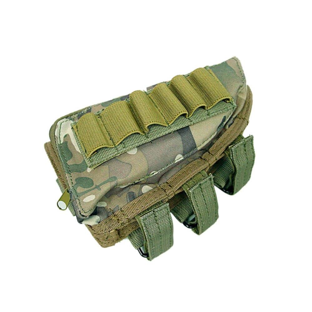 Prix pour En plein air Multi-fonction Molle Tactique Accessoire Kit pièces pendentif sac Airsoft Fusil de Chasse Fusil Munitions De Poche Cheek Pack