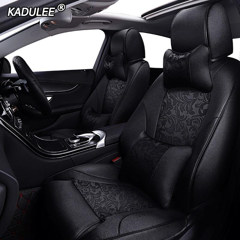 KADULEE изготовленный на заказ тканевый чехол для автомобильного сиденья для Haima Freema Family M8 3 V70 F7 S6 M3 M6 Чехлы для автомобильных сидений