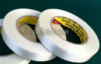 1x 25mm 55M 3M Adhesive Fiberglass Tape High Tensile Strength For Industry Electric Wood Metal Panel