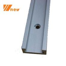 Taller de carpintero, 30-122 cm (11.8-48 Pulgadas) Estándar de la pista, Mitra de aluminio Pista/Ranura para la Sierra de Mesa, Router, Prensa de taladro de Plantillas