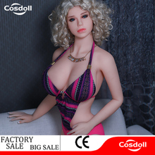 Cosdoll Factory Sexy Golden Hair Girl Silicone Sex Dolls Big Beasts Love Doll Female Sex Doll For Male Oral Anal Vaginia Sex