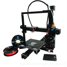 auto level large build area HE3D reprap prusa i3 high precision EI3 Diy 3D printer two rolls PLA filaments for gift