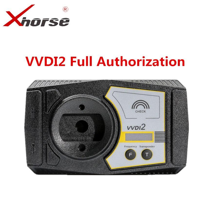 Xhorse VVDI2 Version Complète V6.0.0 Pour V-W/Audi/BMW/Porsche/PSA Plus Pour BMW FEM BDC ID48 96bit ID48 OBDII MQB D'autorisation