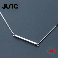 JUNG Sec Kill Only 4 Stocks A stick 925 Sterling Silver Necklace Christmas Gift Charms Pendant Set Jewelry Accessories Women