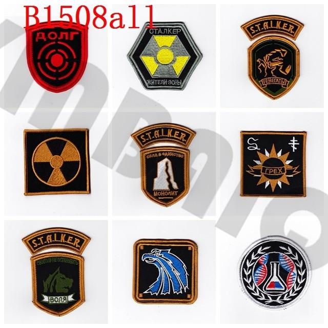 Parche bordado stalker Team Morale tactics militar