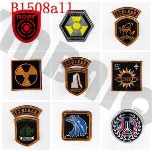 Image 1 - Stickerei patch stalker Team Moral taktik Militär