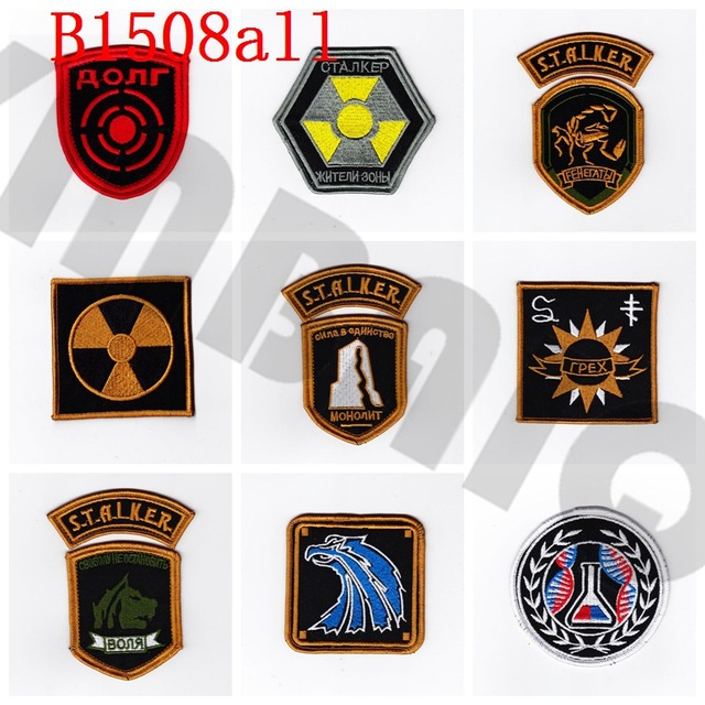 Stickerei patch stalker Team Moral taktik Militär