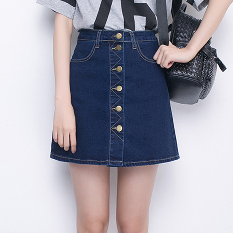 Online Get Cheap Dark Denim Skirt -Aliexpress.com | Alibaba Group