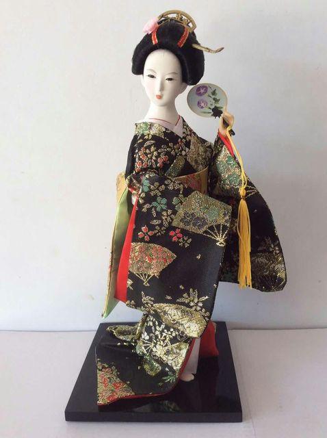 2019 new Statuette Ethnic Japanese Geisha Dolls Kimono Dolls Belle Girl Lady Collection Home Decoration Miniature Figurines