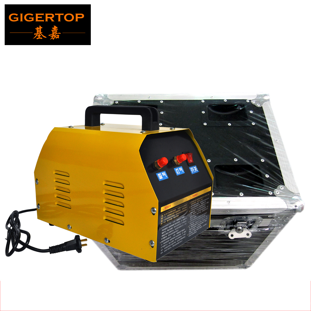 TIPTOP Stage Lighting Confetti Machine Air Compressor Confetti Cannon Gas Tank China Supplier Electrical Hand Control Gas in/out hot 1500w confetti machine rainbow machine entertainment open air concert theater american dj stage effects