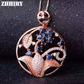 Natural Sapphire Gemstone Colar Pingente Genuine Sólido 925 Sterling Silver Lady Jóias