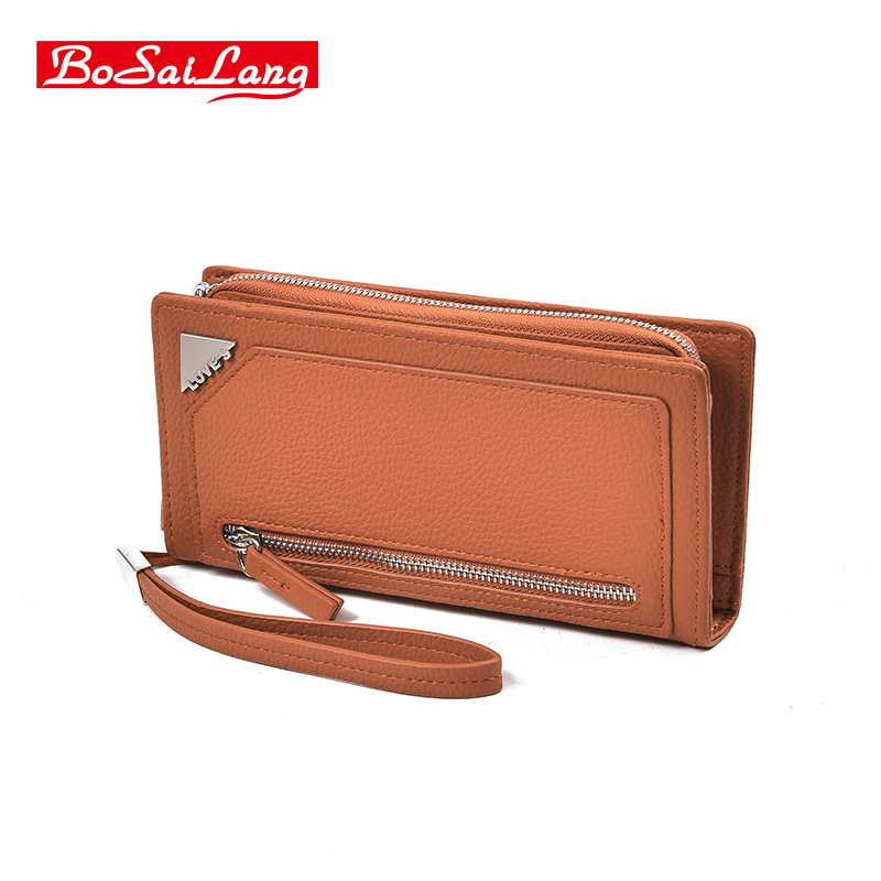 High Capacity Fashion Women Wallets Long PU Leather Wallet Female Clutch Coin Purse Ladies Wristlet unique women pu leather zipper wallet colorful women s wallets stone leather coin purse ladies long purses brand clutch wallets