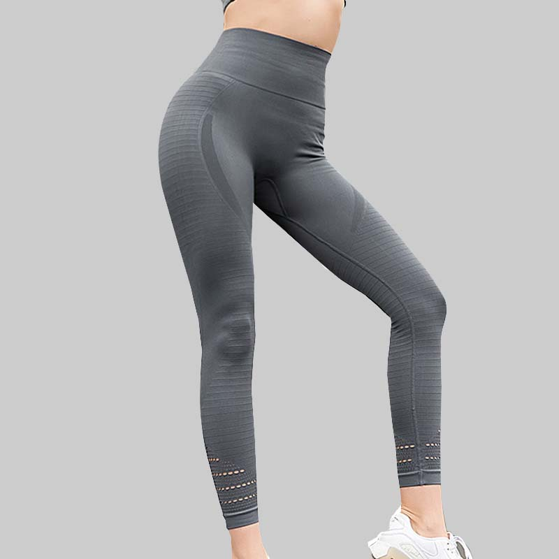 Acheter Taille haute Étiré Sport Pantalon sans soudure Gym Vêtements  Spandex Collants Running Femmes Sport Leggings Remise En Forme De Yoga  Pantalon Pas ... daca803552d