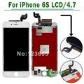 3d táctil de 4.7 pulgadas para apple iphone 6 s asamblea digitalizador de pantalla lcd táctil de pantalla y el envío libre negro/blanco