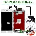 3d toque de 4.7 polegadas para apple iphone 6 s tela lcd touch display digitador assembléia & frete grátis preto/branco