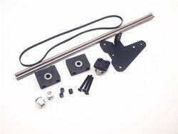 Funssor CR-10 dual asse Z kit di aggiornamento Per Creality CR-10/ENDER3 3D Stampante singolo motore dual asse Z puleggia aggiornamento