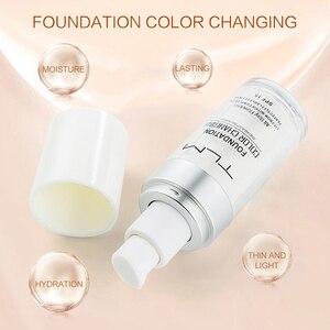 Image 4 - Жидкий тональный крем TLM 30 мл с изменением температуры, увлажняющий макияж, косметическая основа TSLM1