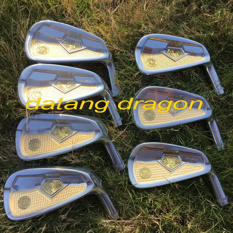 New honma golf irons AP280 forged irons 7pcs with original true temper S300 steel shaft authentic golf clubs cooyute new mens golf clubs katana voltio iii golf irons set 7 9 p a s club irons with graphite golf shaft r flex free shipping