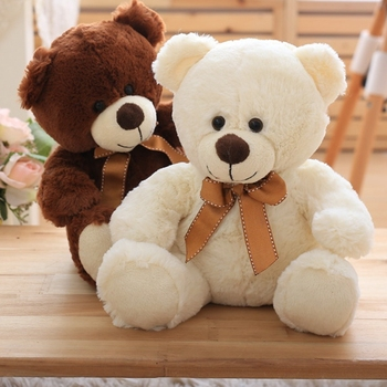 High Quality Toy Cartoon Teddy Bear Plush Toys 25cm Stuffed Plush Animals Bear Doll Birthday Gift For Children