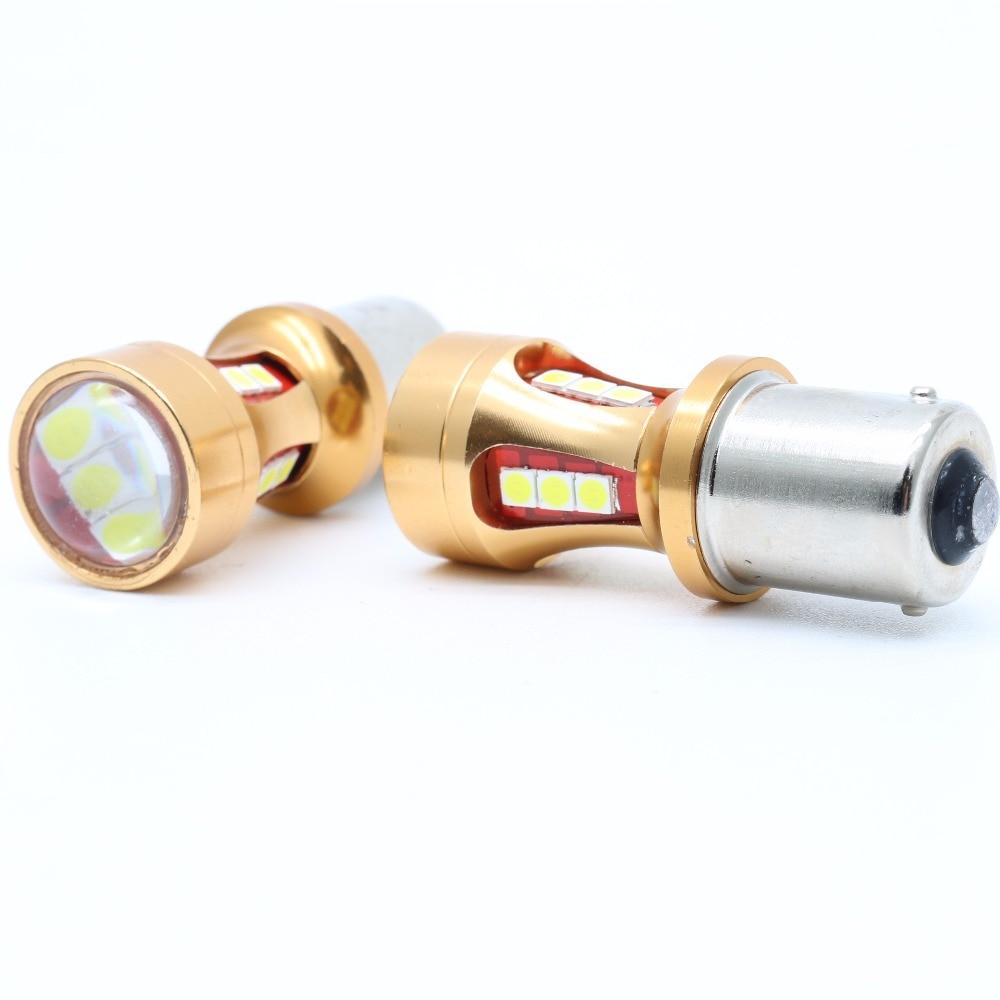 2X yüksək gücü S25 1156 BA15S 1200LM P21W Canbus Xəta Xeyr LED - Avtomobil işıqları - Fotoqrafiya 1