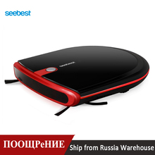 Seebest E630 MOMO 4.0 Auto Recharge Super Slim Robotic Vacuum Cleaner Dry Mopping with Remote Control, Hard Floor Clean Robot цена и фото