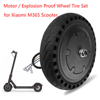 Motor / Explosion Proof Wheel Tire Set For Xiaomi M365 Electric Scooter Anti Skidding Tire Durable Motor Xiaomi Electric Scooter