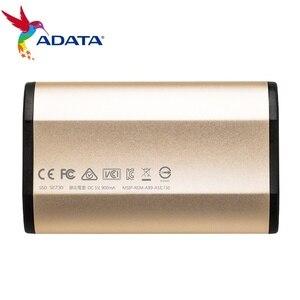 Image 2 - Adata se730 250g 512g 외부 솔리드 스테이트 드라이브 usb 3.1 3d nand 플래시 windows mac 용 내구성 향상 최대 500 메가바이트/초