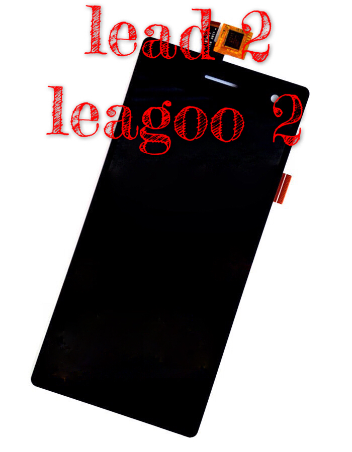 ФОТО Lead 2  assembly leagoo brought new songs touch screen display LCD screen display on the outside