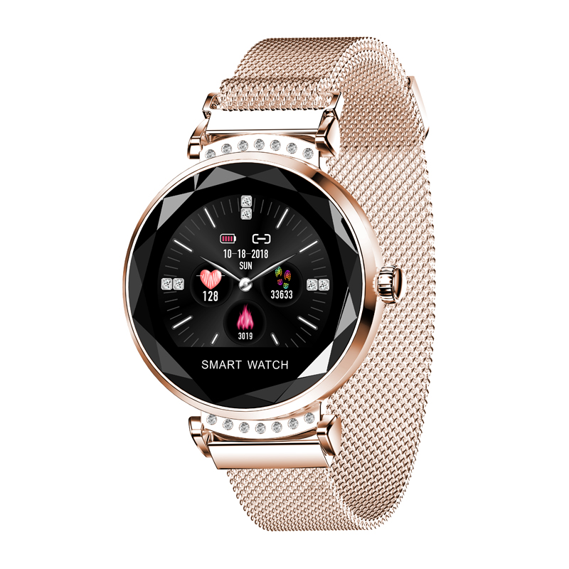 H2 Fashion Smart Watch Women Lovely Bracelet Heart Rate Monitor female physiological cycle Remind Smartwatch connect IOS AndroidH2 Fashion Smart Watch Women Lovely Bracelet Heart Rate Monitor female physiological cycle Remind Smartwatch connect IOS Android