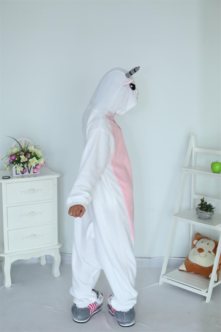 Rajzfilm felnőtt unisex kecske onesies pizsama gyapjú juh pizsama - Jelmezek - Fénykép 4