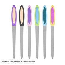 3 шт ail Art шлифовальная Полировка двухсторонние пилки для ногтей из нержавеющей стали для ногтей Маникюрный педикюрный инструмент