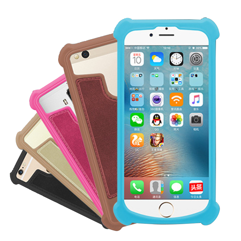 NUU A3 A3L A4L A5L A6L X4 Silicone Case Shockproof Rubber Skin Back Cover  Leather Phone Case Holster (BEST SALE July 2019)