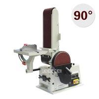 JBDS 4115 Desktop Belt Machine Grinder Household Multi Function Polishing Machine Electric Sand Drum Grinder 220V