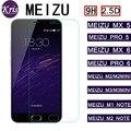 9 h 2.5d protetor de tela premium de vidro temperado para meizu m2 mini m2 note2 Nota Note3 Nota Metal MX4 MX4 MX5 M3 M1 Pro 5 6 MX6