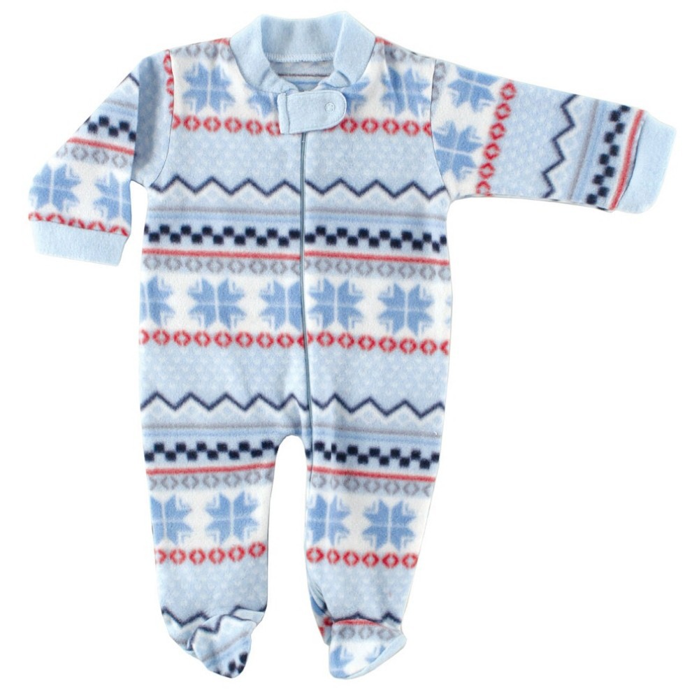 c89d7974d Hudson Baby Boys Girls Fleece Zipper Sleep N Play Baby Clothing ...