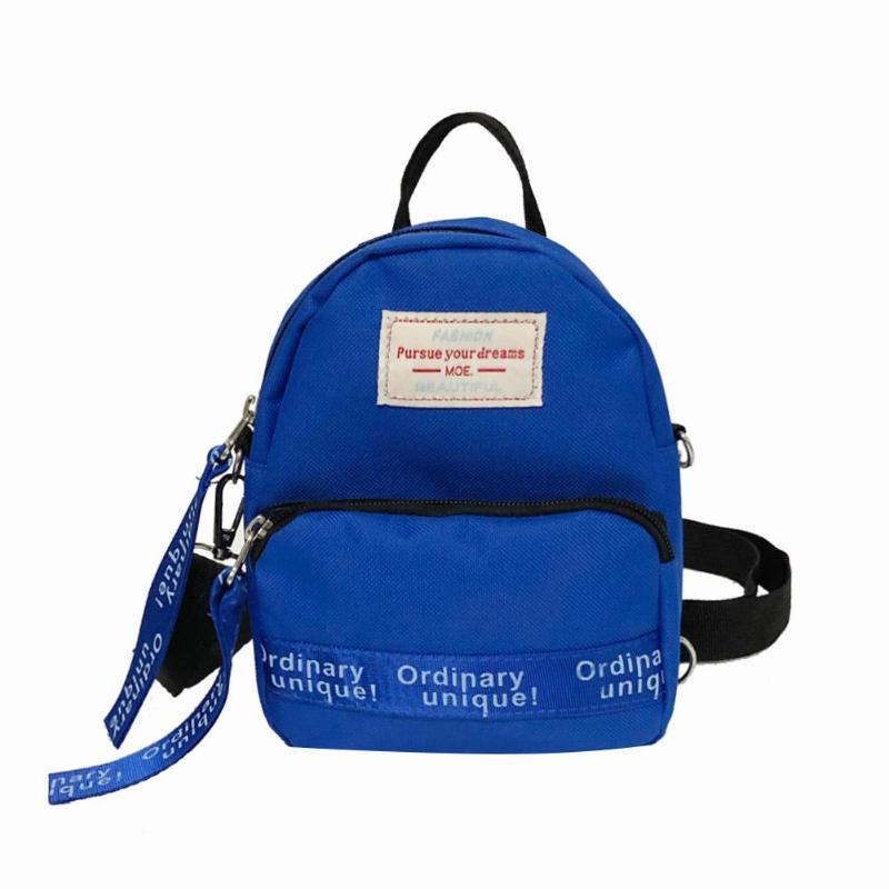 HTB1 r6XXh rK1RkHFqDq6yJAFXar Multi-Use Teenage Girls Mini Backpack Nylon Letter Print Shoulder Crossbody Bags Casual Women Backpack Mochilas Mujer