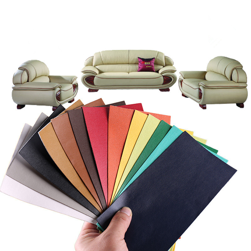 Sofa-Repairing-Patches-Fine-lines-Sheepskin-pattern-Leather-PU-Fabric-Stickers-Self-adhesive-stick-on-Scrapbook