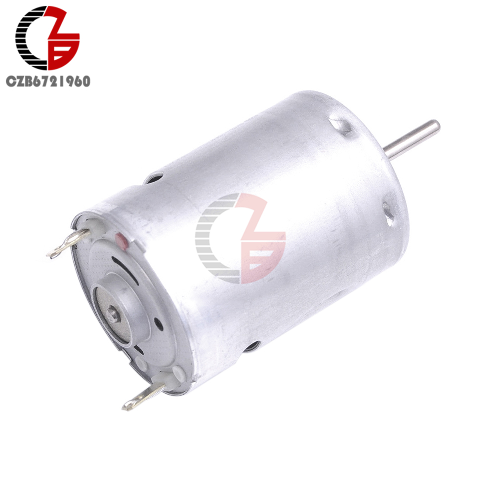 380 DC Motor DC 12V 24V High Speed Hobby Toy Micro Motor 8000RPM 16000RMP High Torque for Smart Car Electronic DIY
