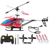 2.4G 4CH 3.7V 380mAh Lipo Battery Mini Alloy Electric Rechargeable RC Helicopter Model Mini Drone Helicopter