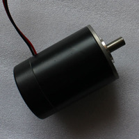 Permanent Magnet Brushed Electric Motor 24VDC 25W 3500rpm 53ZY HNBAN CE For Solar Electrical Energy Generation