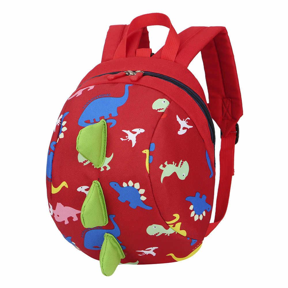 HIINST Модная одежда для детей, Детская мода плюшевый рюкзак для мальчиков и девочек детская одежда с принтом в виде динозавров для мальчиков рюкзак в форме животных для малышей школьная сумка челнока CC #