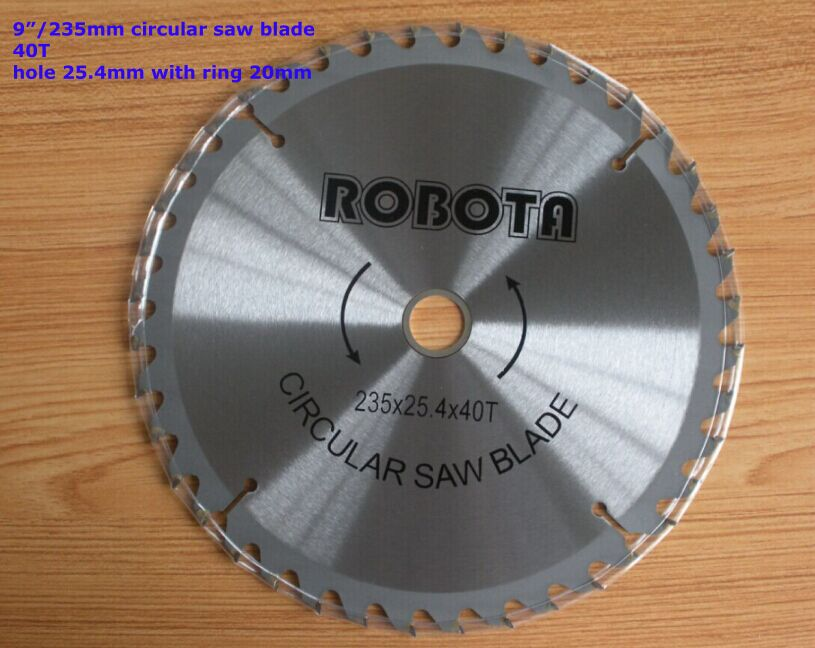 circular saw blade, 9  40T,  wood cutting round disc,  hard alloy steel circular saw 9 60 teeth segment wood t c t circular saw blade global free shipping 230mm carbide wood bamboo cutting blade disc wheel